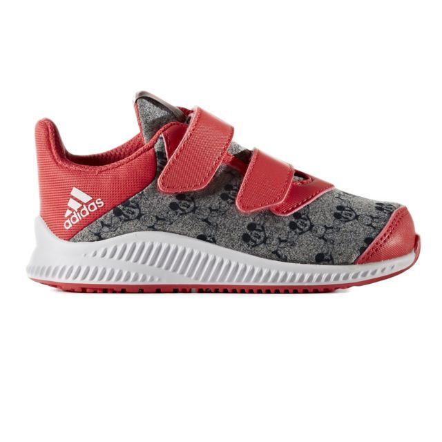best sneakers 824b0 0c1a3 Adidas - Disney Mm Fortarun Chaussure Bébé Fille - Taille 24 - Gris - pas  cher Achat  Vente Baskets enfant - RueDuCommerce