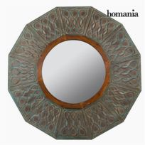 Homania - Miroir Rond Bronze - Collection Vintage by