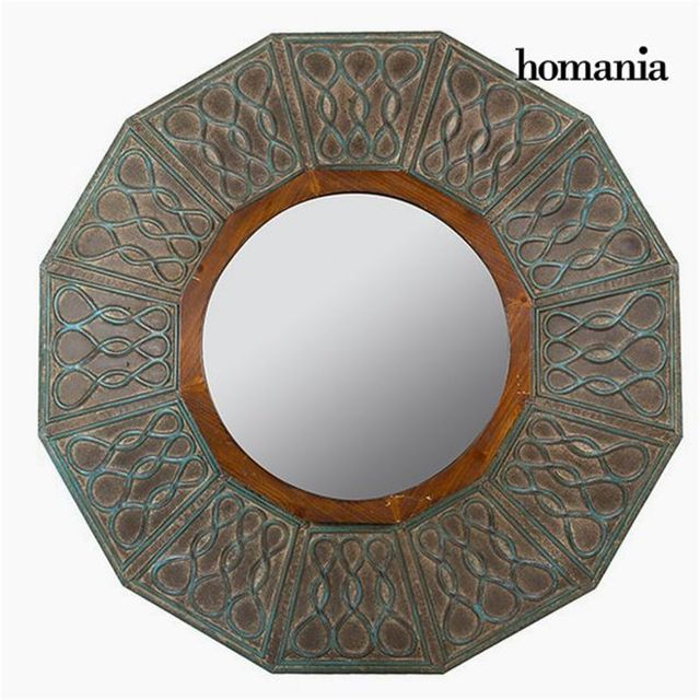 Homania Miroir Rond Bronze - Collection Vintage by