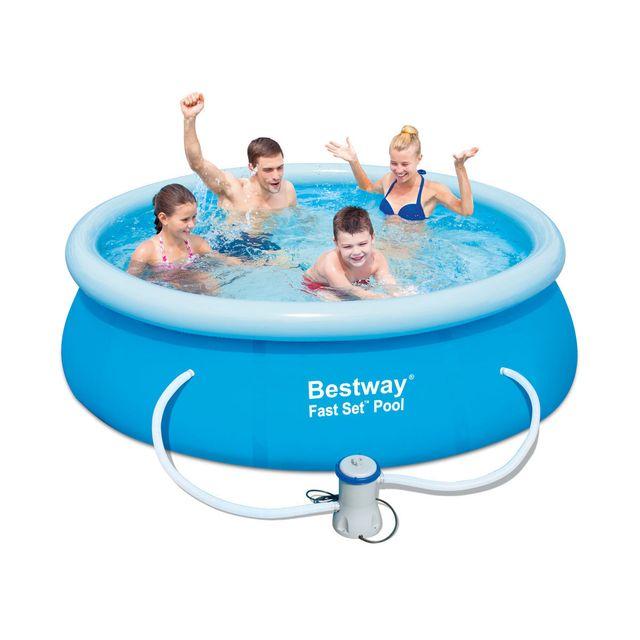 Bestway piscine autoportante ronde x m for Best way piscine