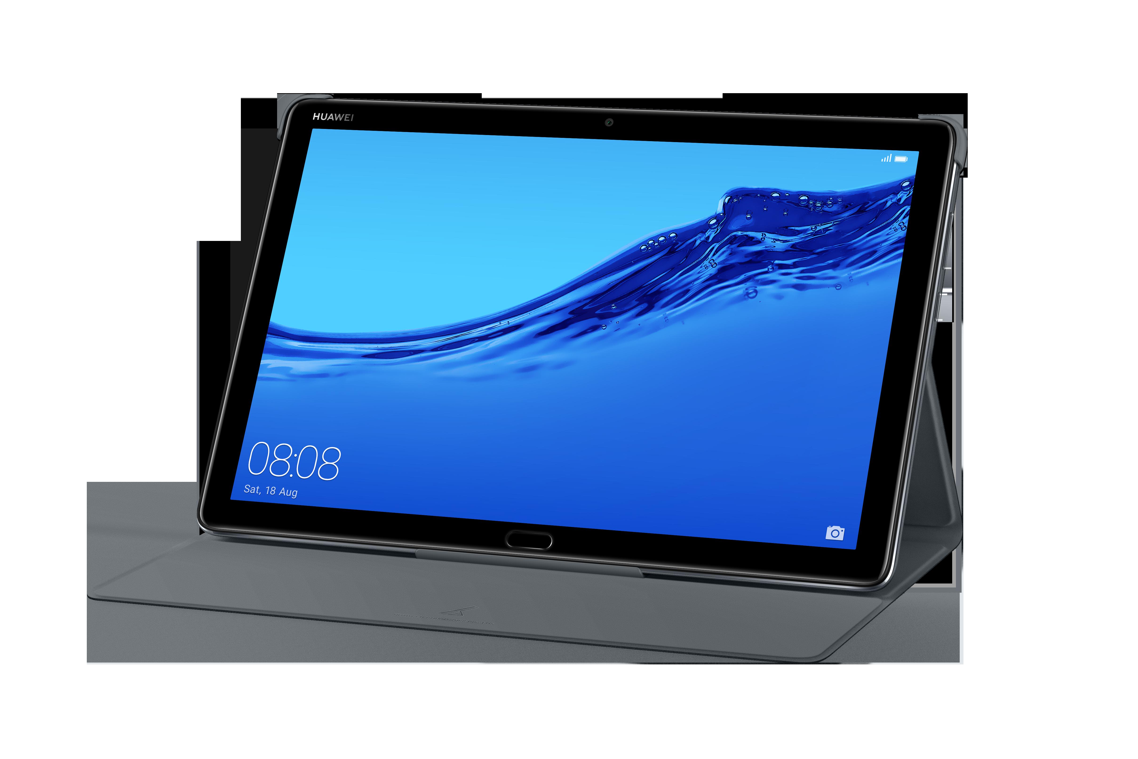 Huawei Etui Mediapad M5 Lite 10 Gris Housse étui Tablette Rue Du Commerce