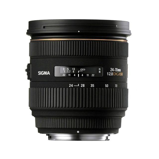 Sigma Objectif 24-70 mm f/2,8 Dg Ex Hsm Sony