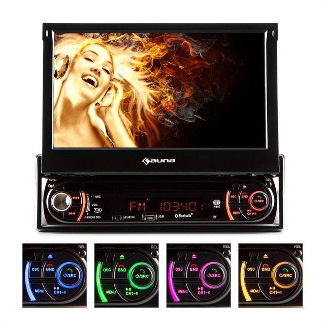 AUNA MVD-240 Autoradio DVD USB SD AUX MIC