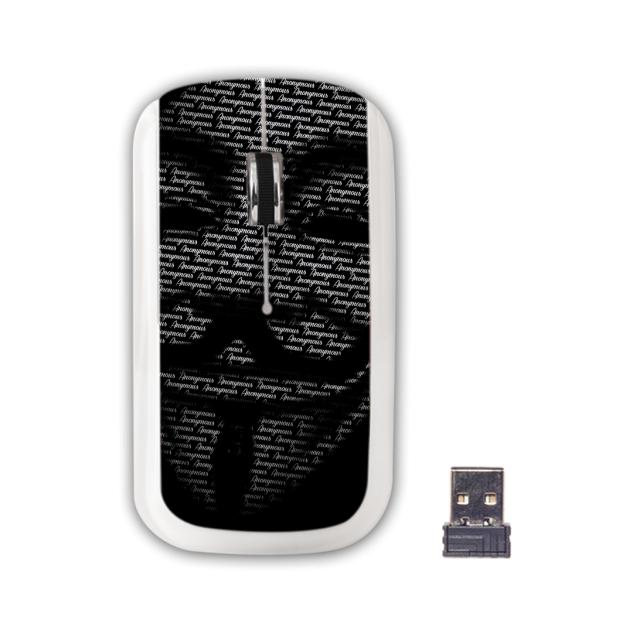 ADVANCE Anonymouse Souris sans-fil 3 boutons 1000 DPI