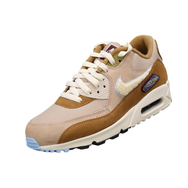 new concept 321de f2abf Nike - Air Max 90 Premium S 858954 - 200 Beige. Description  Fiche  technique. Baskets ...