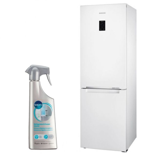 Samsung Réfrigérateur Frigo Combine blanc 328L A+ Froid ventilé No Frost MultiFlow