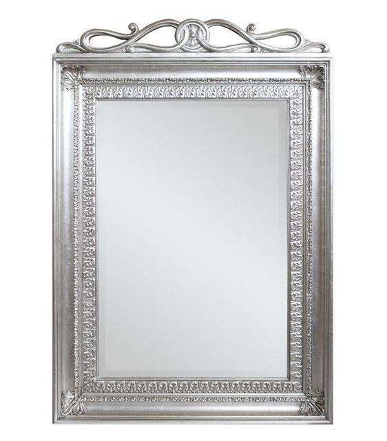 Artigiani Veneti Riuniti Miroir rectangulaire feuille d'argent