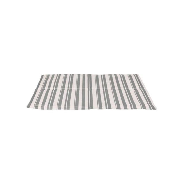 Trixie Matelas rafraîchissant - L: 65 × 50 cm - Blanc et gris