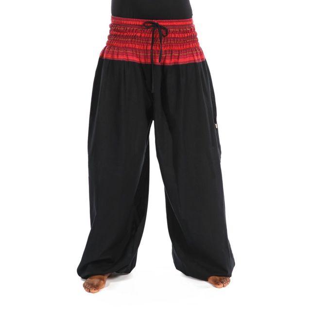 fd0cbecf6aa Fantazia - Pantalon sarouel elastique grande taille - pas cher Achat ...