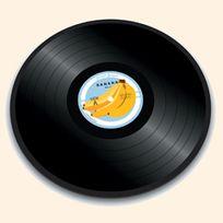 Joseph Joseph - Dessous De Plat Rond En Verre 30 Cm - Banana Vinyl