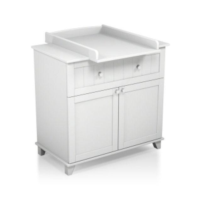 at4 commode plan langer b b blanc pas cher achat. Black Bedroom Furniture Sets. Home Design Ideas