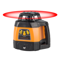 GEO FENNEL GMBH - Laser rotatif 600M FL100HA JUNIOR + Trépied dextérieur + Mire télescopique 4M - 212000-S01