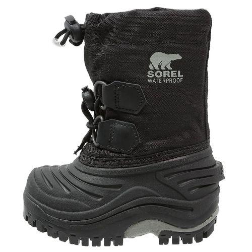 1a6a5de5996ae Sorel - Toddler Super Trooper Bottes Neige Garçon Noir - 21 - pas cher  Achat   Vente Boots, bottines - RueDuCommerce