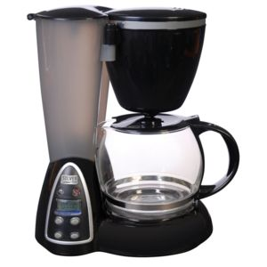evatronic cafeti re programmable 12 tasses 800w noire inox. Black Bedroom Furniture Sets. Home Design Ideas