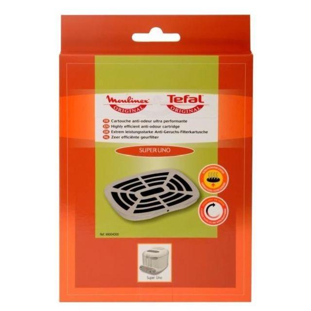 Moulinex Cartouche filtrante anti-odeur pour friteuse Super Uno