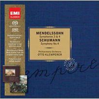 Emi Classics - Félix Mendelssohn-Bartholdy - Symphonies no. 3 et 4 Livre Cd