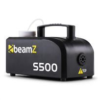 BEAMZ - S500 Machine à brouillard 500W 50m³ + 250ml de liquide