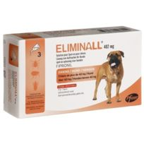 Zoetis - Pack 4 X Eliminall Chiens +40 Kg 402 Mg 3 Pipetes