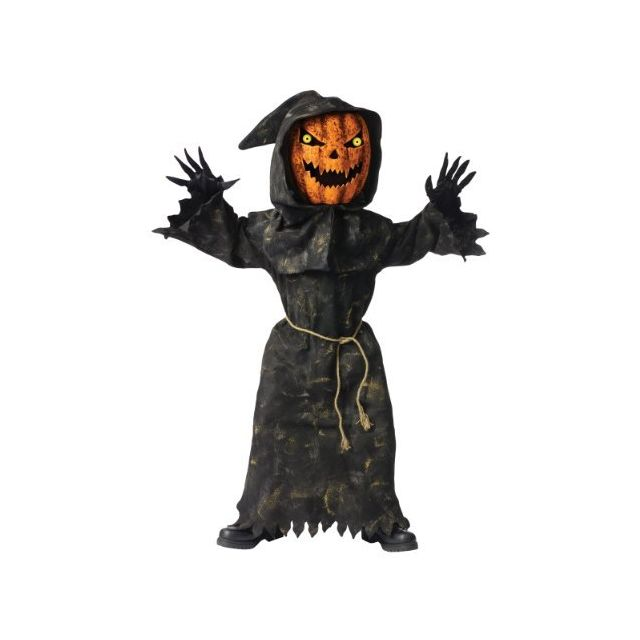 Fun World Bobble Head Pumpkin Childs Costume Large