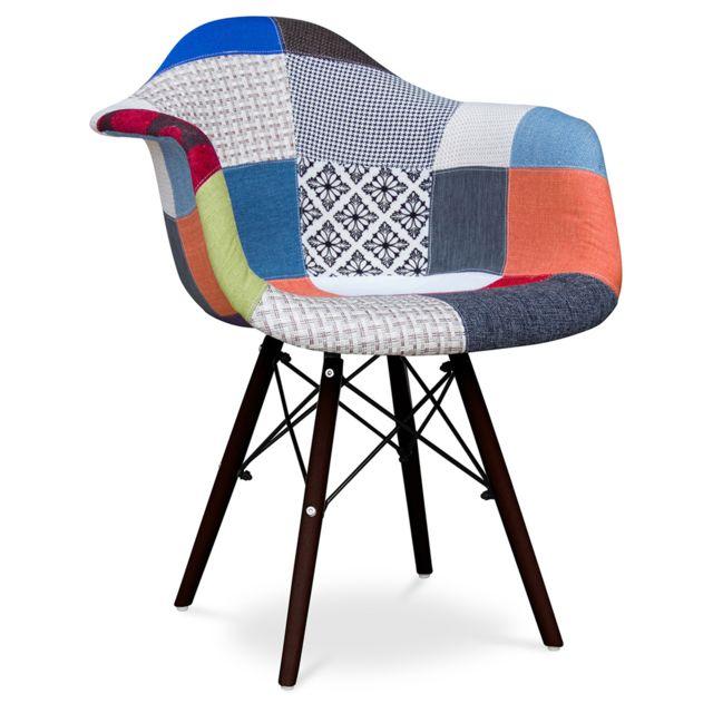 Privatefloor Tabourete Daw Piètement foncé Charles Eames - Style