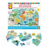 Alex - Carte du monde pour le bain
