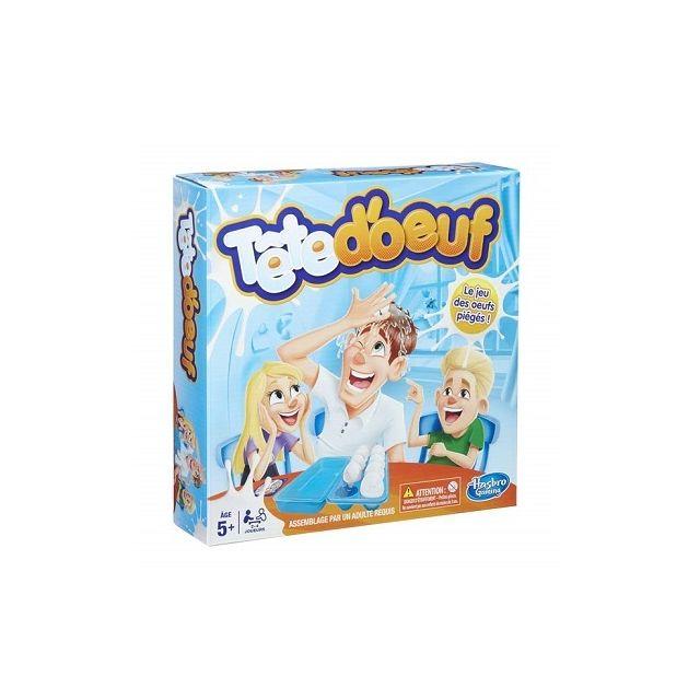 Hasbro Tete d'oeuf, le Jeu des oeufs pieges - Jeu d'action drole - Enfant 5 ans et plus - Pour 2 a 4 joueurs