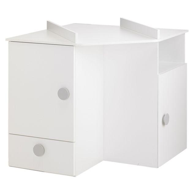 Alin a camille chambre meuble d 39 angle langer pour enfant pas cher achat vente armoire - Meuble angle chambre ...