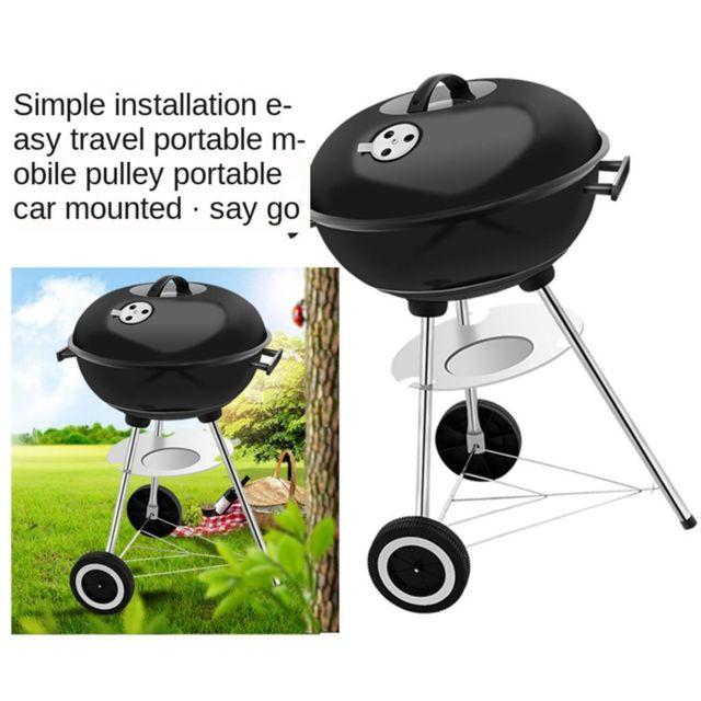 Unknow Portable Barbecue Grill, Pliant Barbecue Grill en