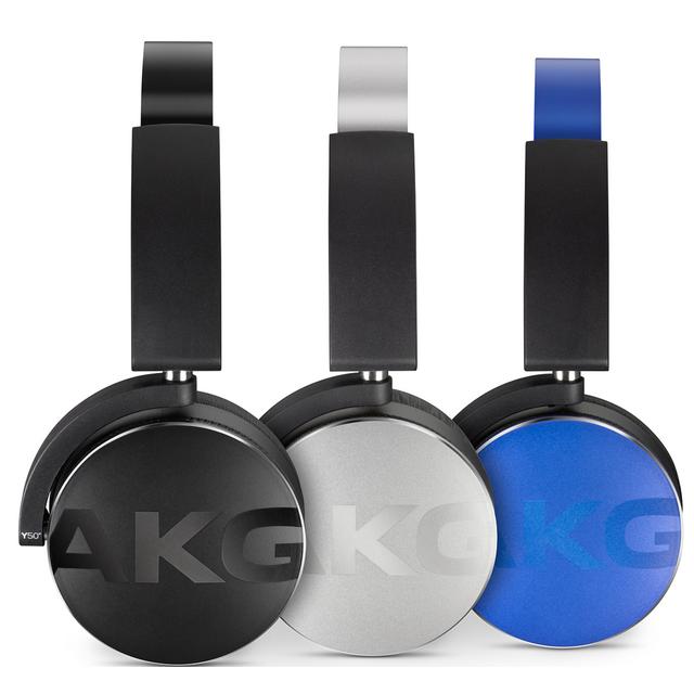 AKG - Casque pliable Alu sans fil Y50BTBLK - Noir