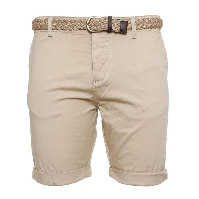 Jack\u0026JONES - Short beige homme Jack