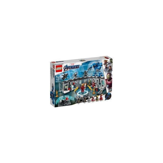 Lego 76125-® Marvel Avengers La salle des armures d'Iron Man
