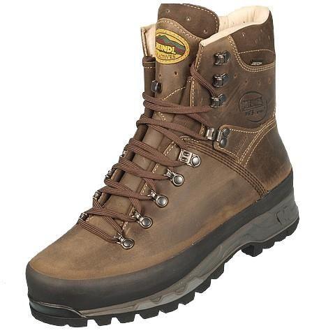 nouveau produit 381d7 e3eff Chaussures marche randonnées Island gtx vibram cuir Marron 74546