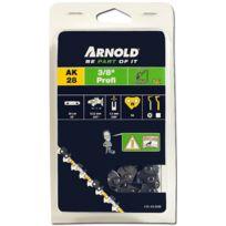 """Arnold - Chaîne 3/8"""", 1,5mm, 56 Entr avec element de securité, demi rond - 1191-X3-5856"""
