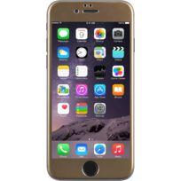 Bbc - Protège-écran en verre trempé contour doré pour Apple iPhone 6