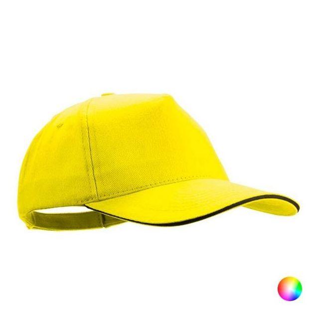 casquette femme jaune