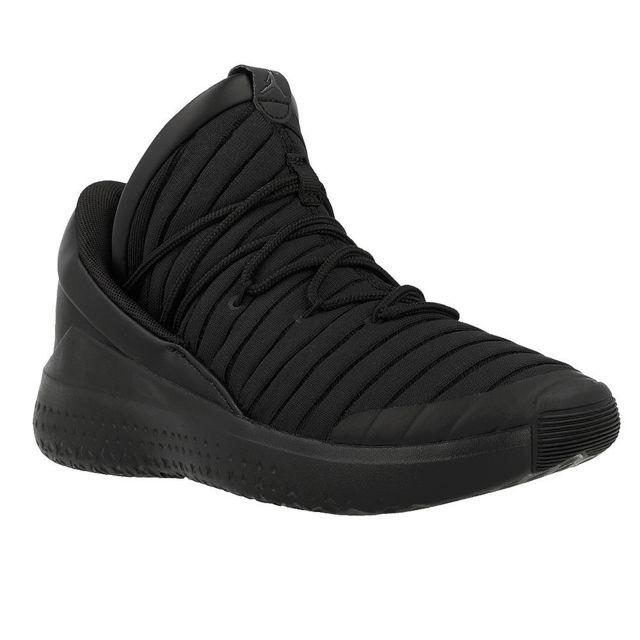 bc06884f001 Nike - Jordan Flight Luxe Noir - pas cher Achat   Vente Baskets homme -  RueDuCommerce