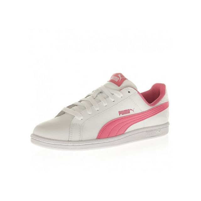 b876e047fab Puma - Chaussures Smash Fun Blanche et Rose Femme Multicouleur - 37 1 2 -  pas cher Achat   Vente Baskets homme - RueDuCommerce