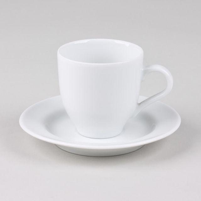 TABLE PASSION TASSE / SOUS TASSE CAFE 10CL CHAMONIX LOT DE 6