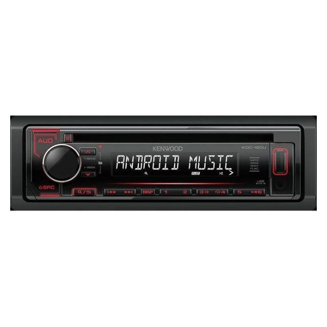 Kenwood Autoradio Mp3 Kdc-120UR