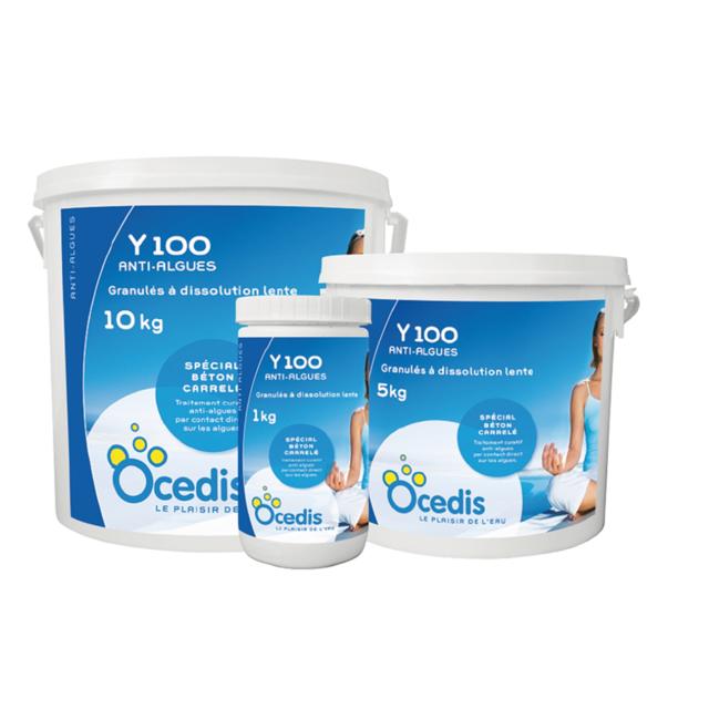 Ocedis - Anti Algue Y 100 Curatif - Seau de - 10 kg