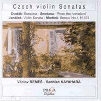 Praga Digitals - Vaclav Remes - Son. Tcheques pour violon de Dvorak, Smetana, Janacek & Martinu Remes, violon & Rayahara, piano