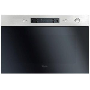 whirlpool micro ondes encastrable 22l 750w inox amw492ix achat four micro onde. Black Bedroom Furniture Sets. Home Design Ideas