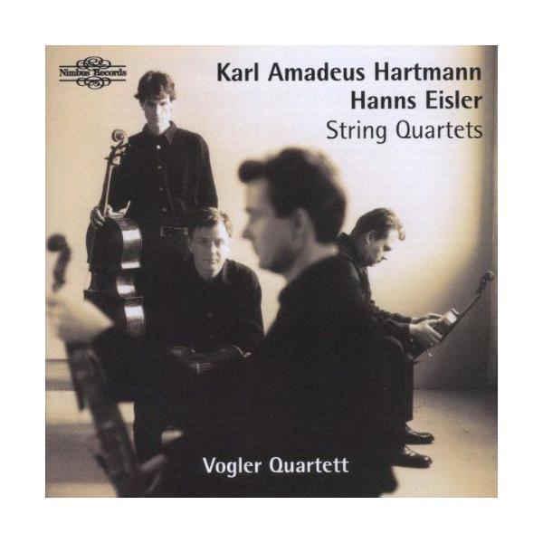 Nimbus Karl Amadeus Hartmann - Hanns Eisler : Quatuors à cordes