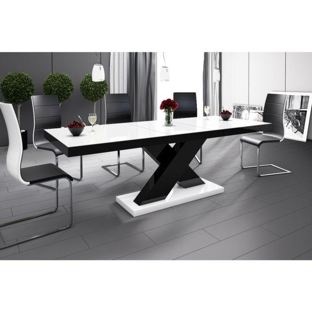 Carellia Table à manger extensible 160 cm ÷ 210 cm x 89 cm x 75 cm