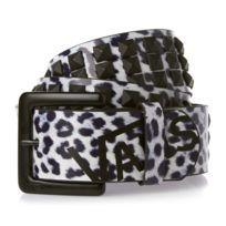 Vans - Ceinture Seize Stud Belt Snow Leopard