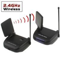 Wewoo - Émetteur & Récepteur Av 2.4 Ghz Transmetteur et sans fil audio / vidéo à 4 canaux de 2,4 Ghz avec fonction d'extension Ir, distance de transmission maximale: 150 m