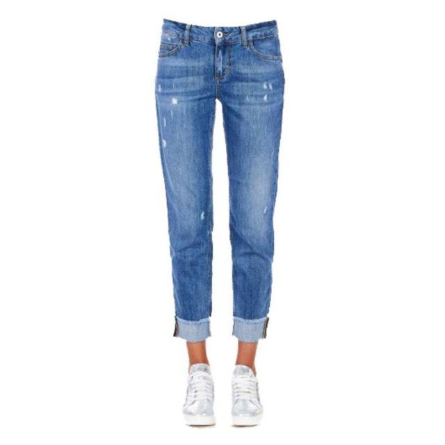 LIU-JO Liu Jo Femme Ua0006D310578010 Bleu Coton Jeans