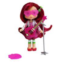 Bandai - Poupée Charlotte aux Fraises : Fraisi-Star : Charlotte aux fraise et sa guitare