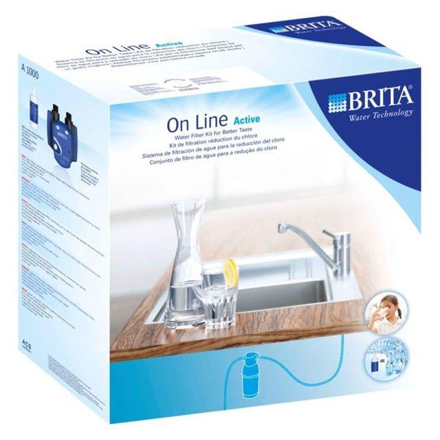 brita kit filtration r duction du chlore sur robinet. Black Bedroom Furniture Sets. Home Design Ideas