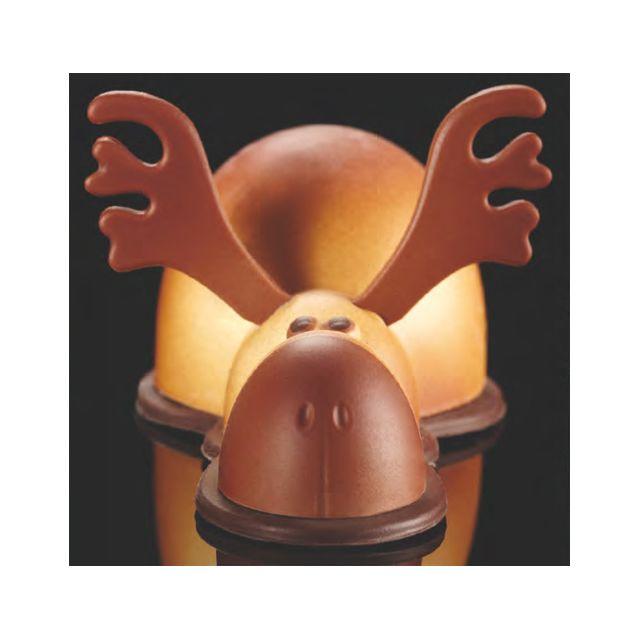 Pavoni Moule chocolat thermoformé Rudolph